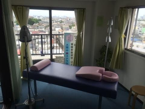 治療院ベッド